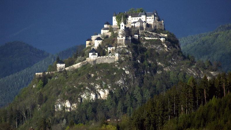 замок Hochosterwitz, Австрия, Каринтия