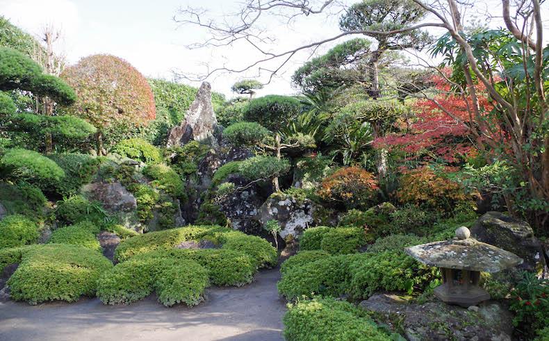 японский сад Тиран