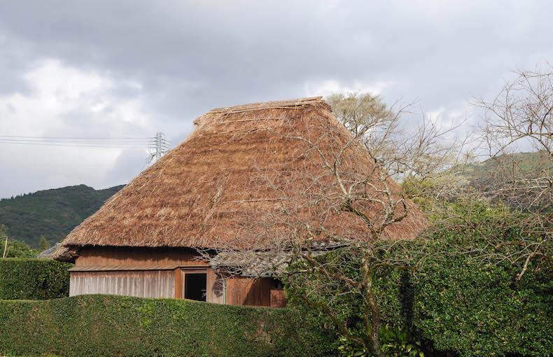 Самурайский дом в саду Тиран