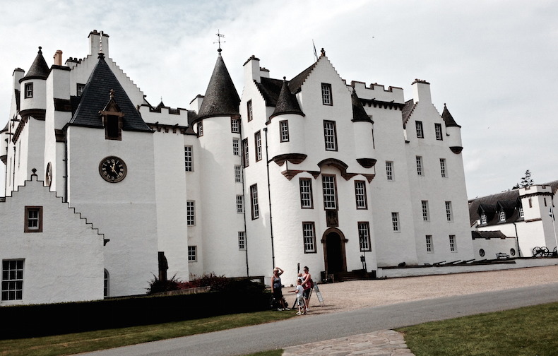 замок Блэр Шотландия