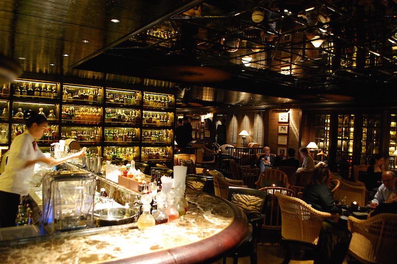 джаз-бар отеля Mandarin Oriental