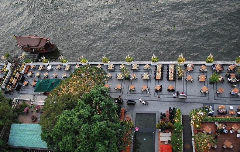 Mandarin Oriental, Бангкок, набережная Чао Прайя