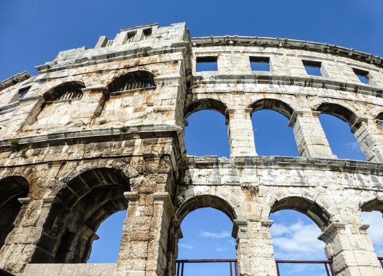римский амфитеатр Пулы, Хорватия