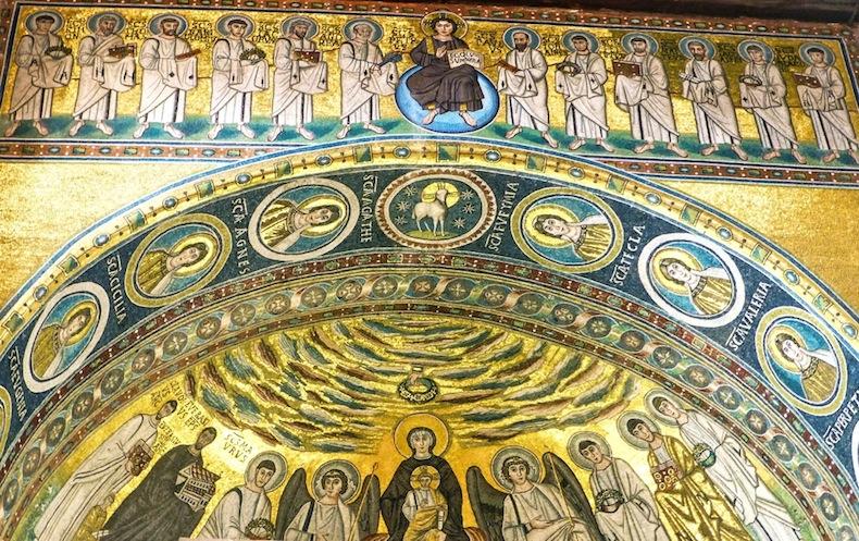византийские мозаики в Евфразиевой базилике, Пореч, Хорватия