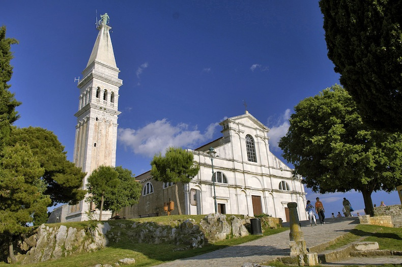 барочная церковь Святой Ефимии, Ровинь