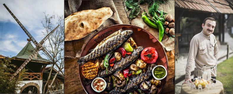 ресторан Мельница, Тбилиси