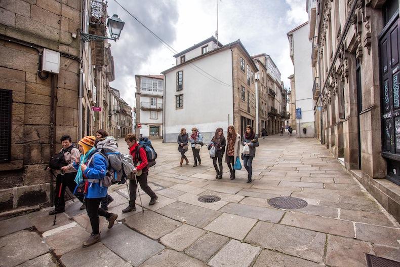 08-Pilgrims-Santiago de Compostela