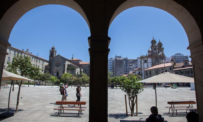 24-Pontevedra-Praza da Ferrería