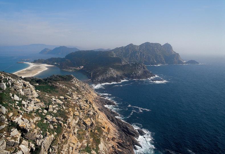 Cíes Islands, острова Сиес, Галисия