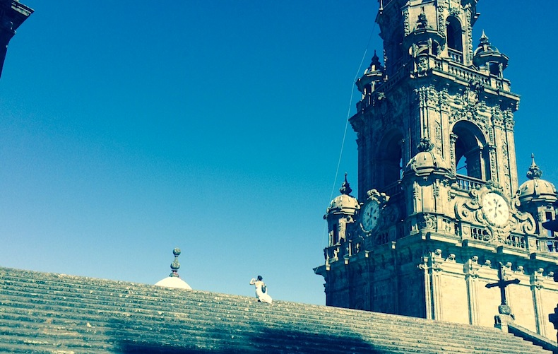 башня собора Сантьяго-де-Компостела