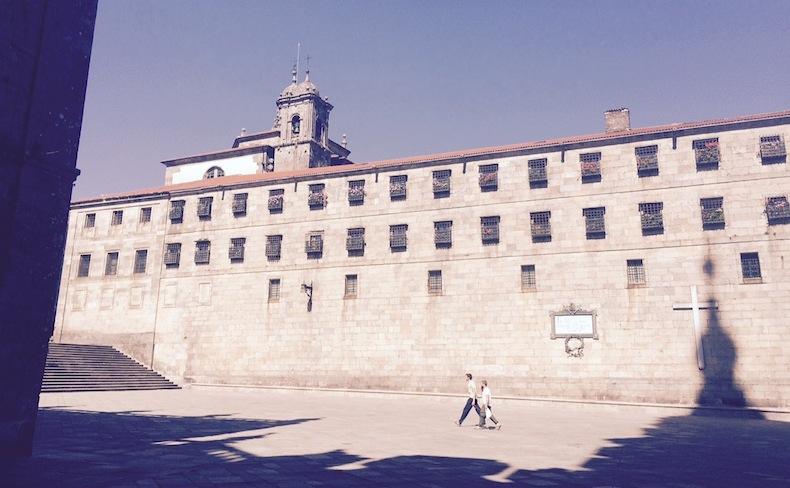 женский монастырь в Сантьяго-де-Компостела