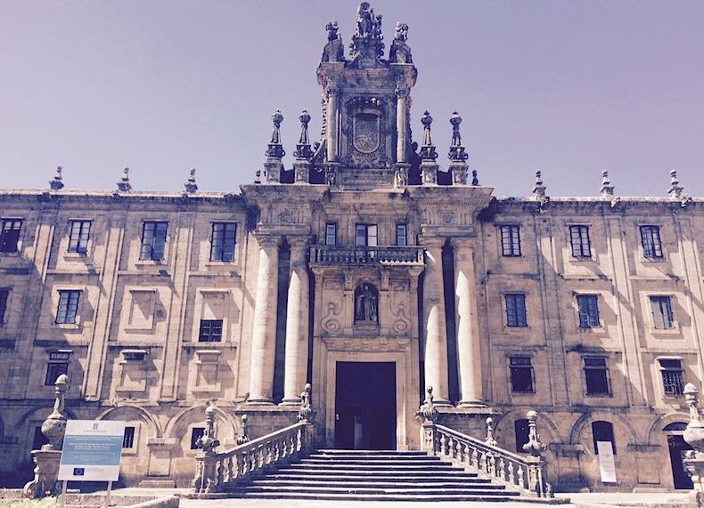 монастырь Святого Мартина в Сантьяго-де-Компостела