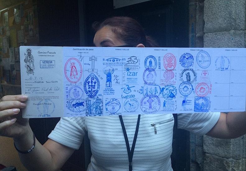 паспорт паломника Сантьяго-де-Компостела