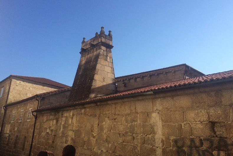 дом епископа в городе Оренсе. Испания, Галисия