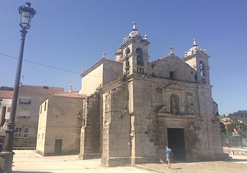 церковь города Байона, Галисия, Испания