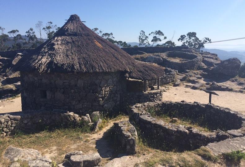 кельтская деревня в Галисии