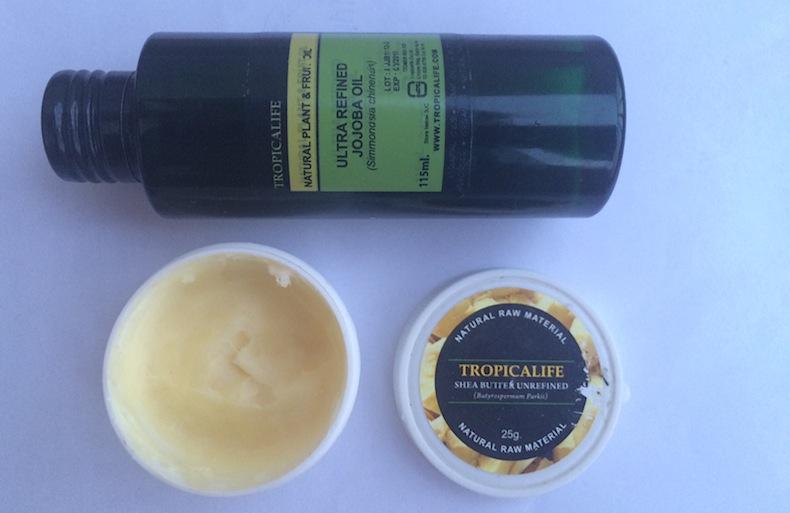 масло для тела жожоба и масло ши, косметика Tropicalife