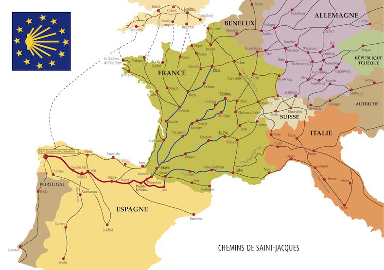 Французский королевский путь Сантьяго-де-Компостела