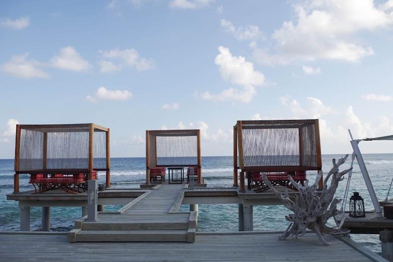 ресторан Мальдивы
