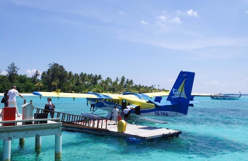 гидроплан, Мальдивы