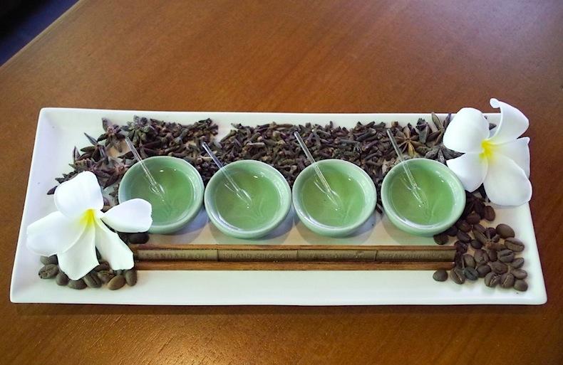 ароматические масла на Мальдивах