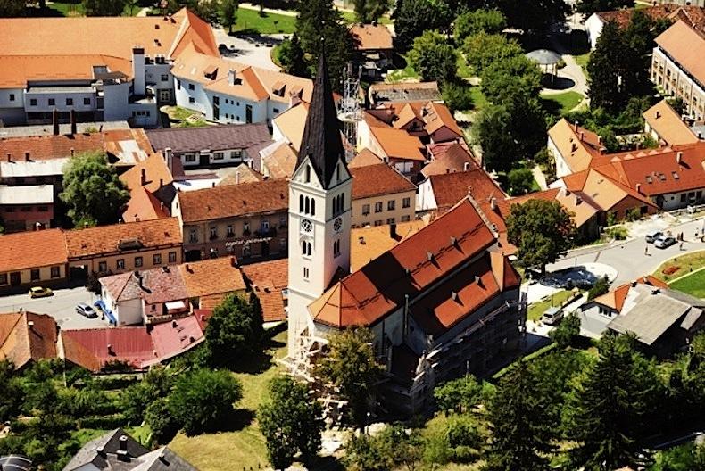 город Крапина, Хорватия