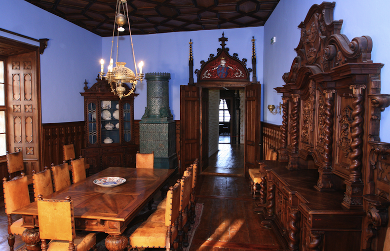 замок Trakošćan, Загорье, Хорватия