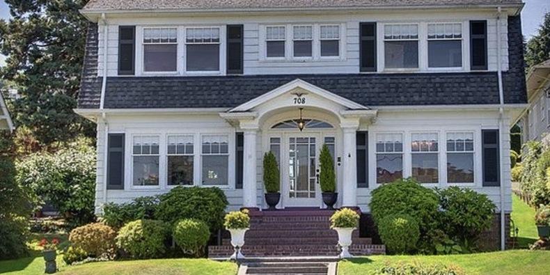 дом Лоры Палмер