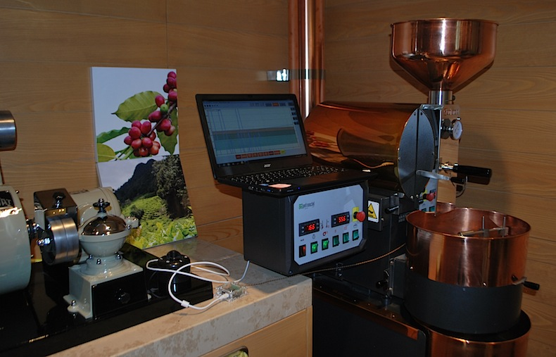 аппарат для создания купажей кофе