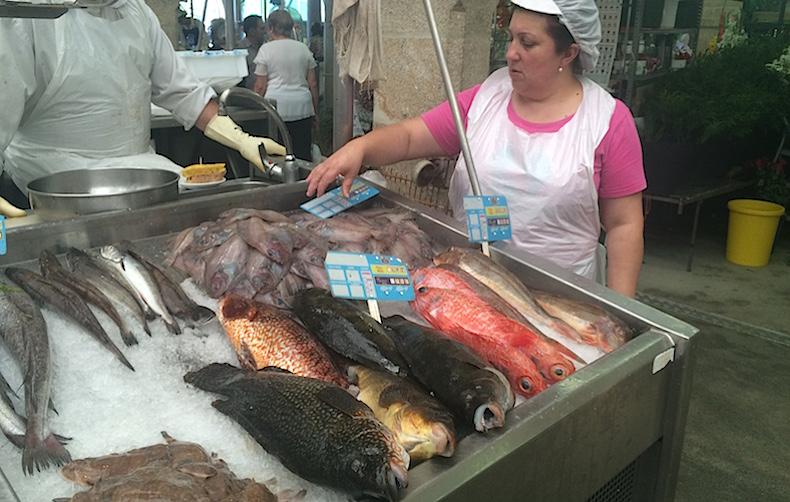 рыбный рынок Понтеведра