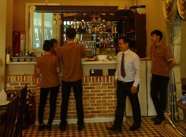 ресторан Viet Village, Хошимин. Вьетнам