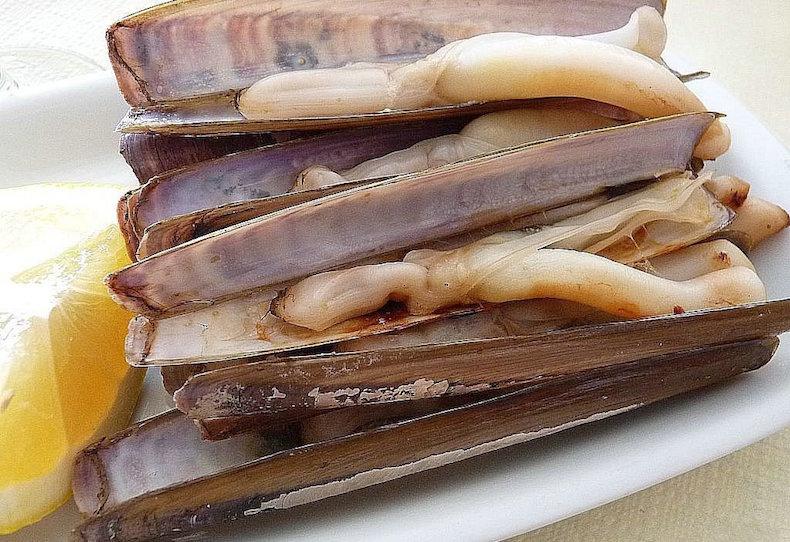 "Наваха (navaja) или ""морской черенок"""