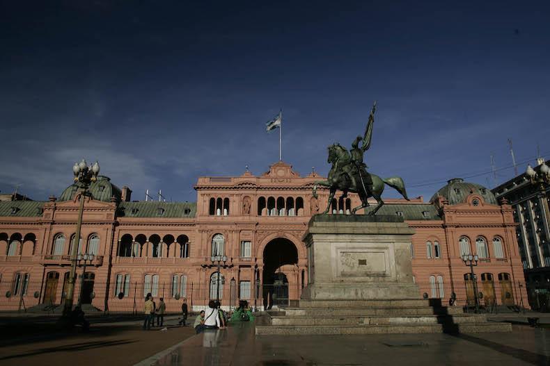 президентский дворец Casa Rosada