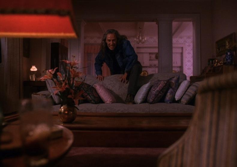Боб в гостиной дома Лоры Палмер, Твин Пикс