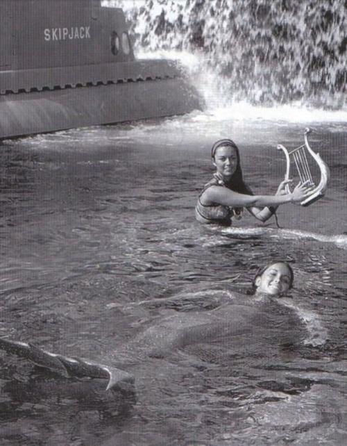 русалки в Диснейленде
