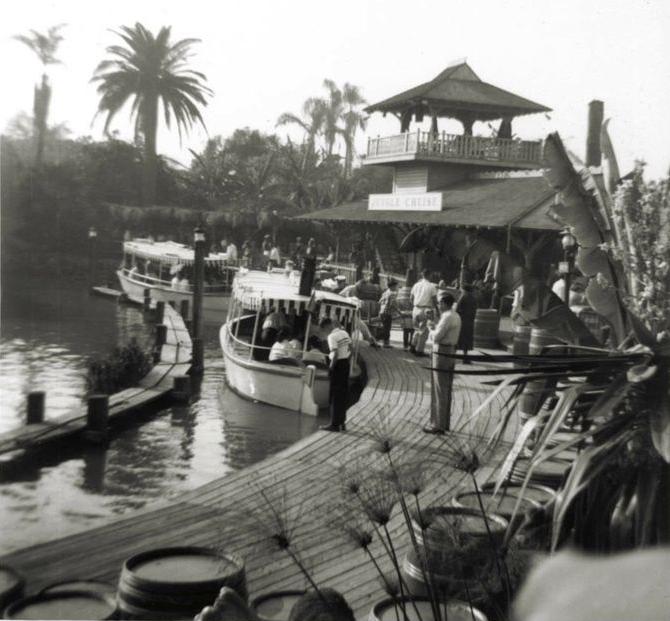 Jungle Cruise винтажные фото Диснейленда