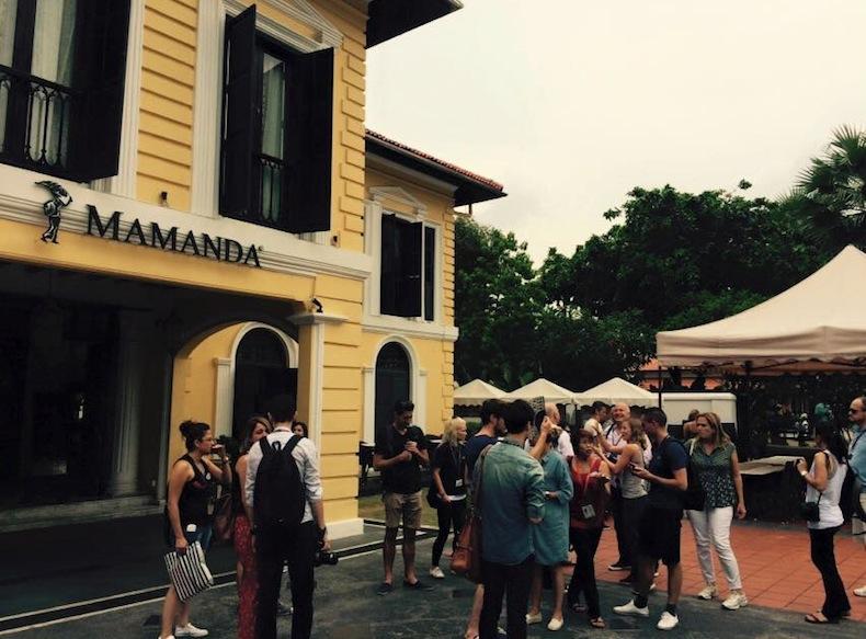 Mamanda Restaurant, Сингапур