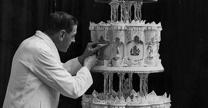 свадеьный торт королевы Виктории