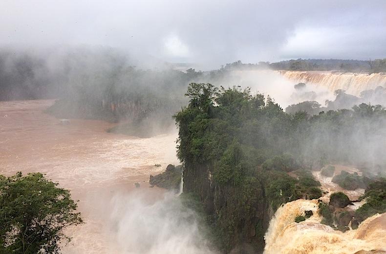 река и водопады Игуацу, Аргентина