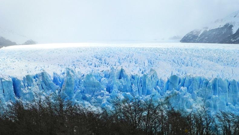 ледник Перито Морено в Патагонии