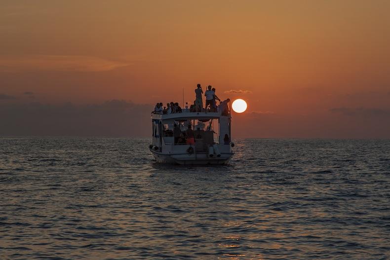 круиз на катере, Мальдивы