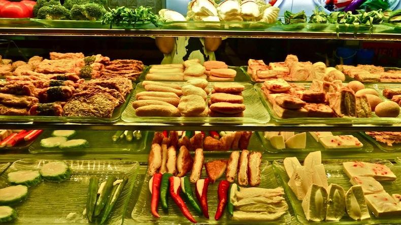 уличная еда Сингапур