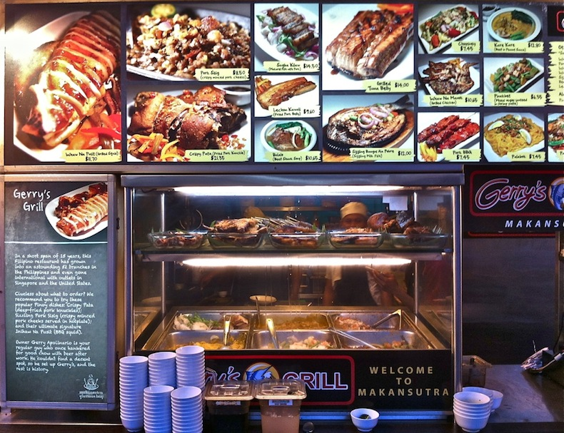 уличная еда, Сингапур