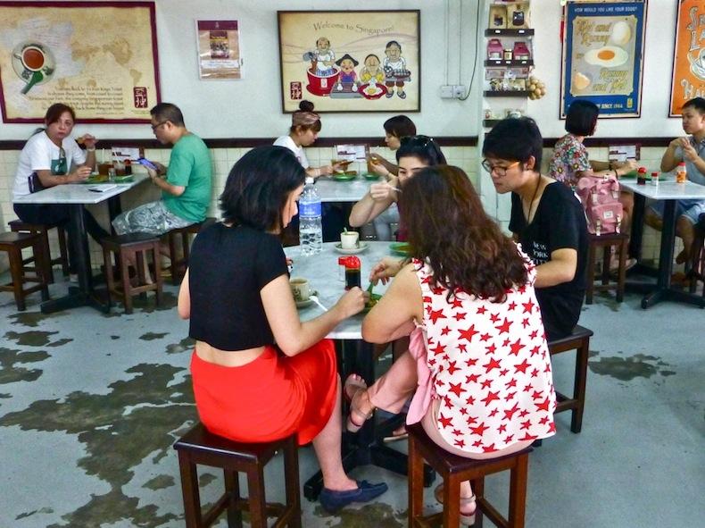 кафе Ya Kun Kaya Toast, Сингапур