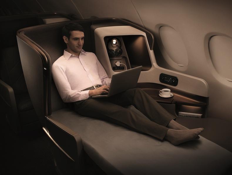 бизнес-класс Singapore Airlines