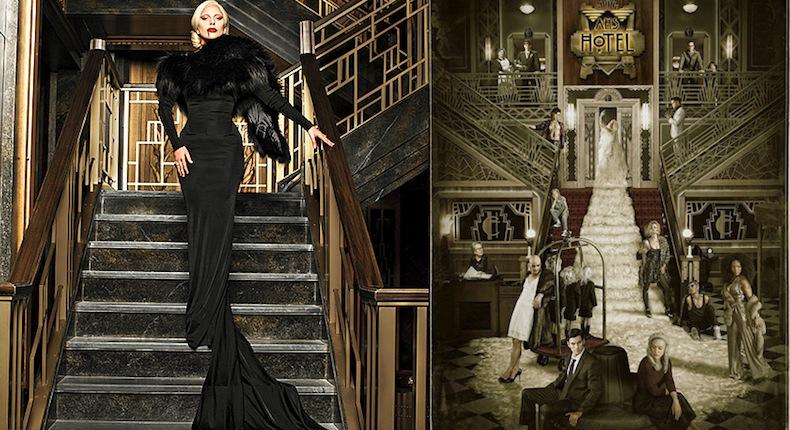 """Леди Гага и постер """"Американской истории ужасов"""""""