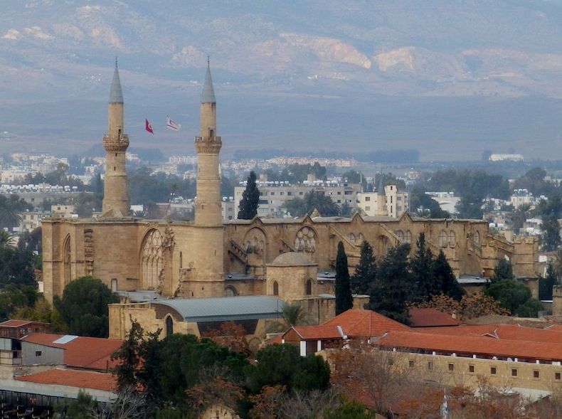Селимие - главная мечеть острова, источник фото @wikimedia