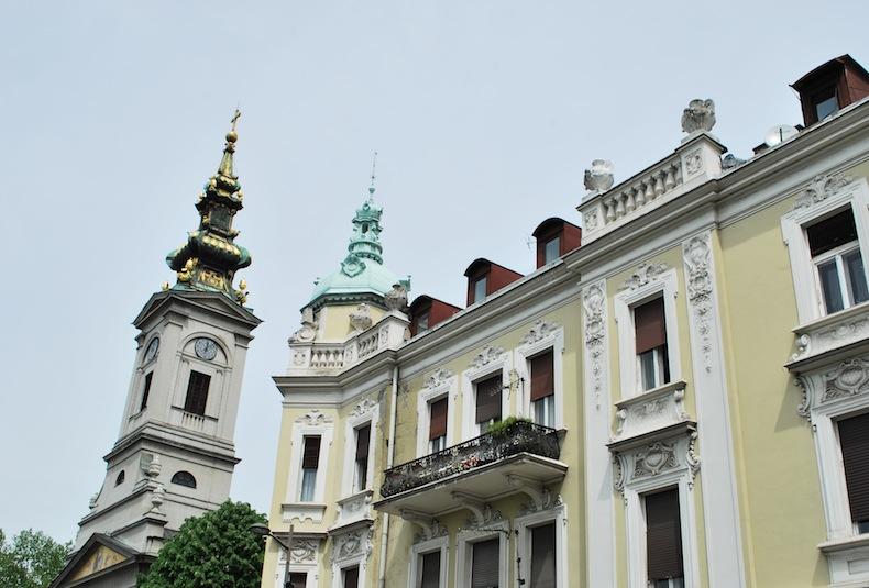 церковь близ улицы Кнеза Михайлова