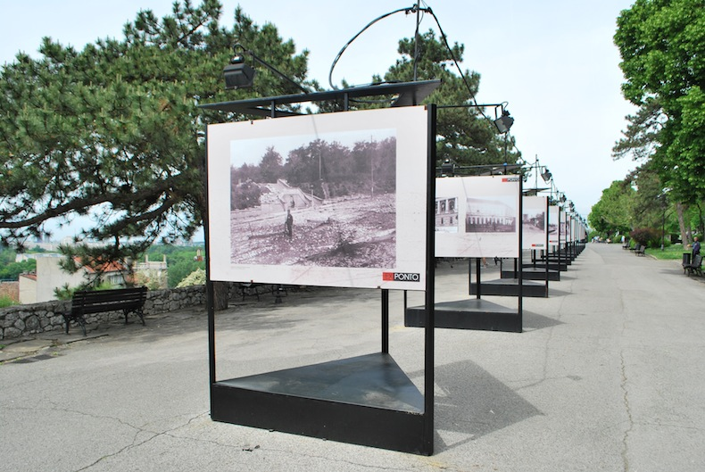 выставка фото в парке Калемегдан