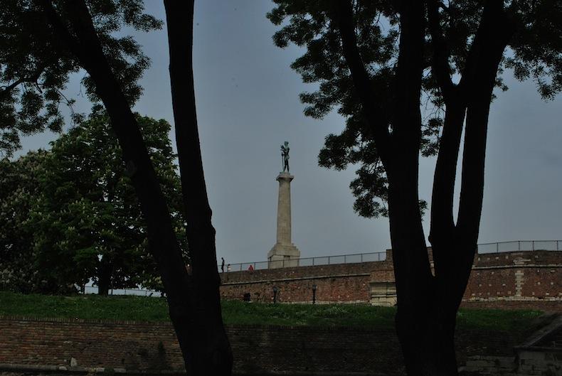 памятник победителю, Белград. достопримечательности